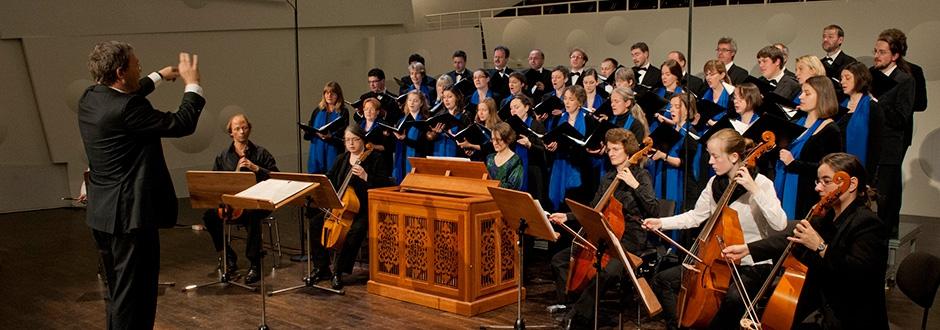 Motettenchor mit Gambenconsort des Heinrich-Schütz-Konservatoriums